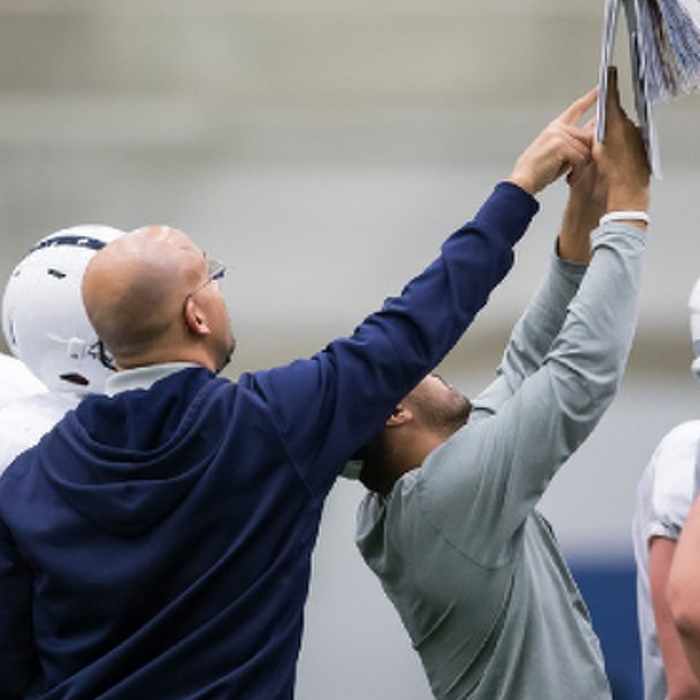 James Franklin's Formula for Penn State Football: Passion + Perseverance