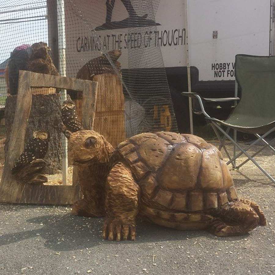 Chainsaw Carving to Be Featured at Harner Farm