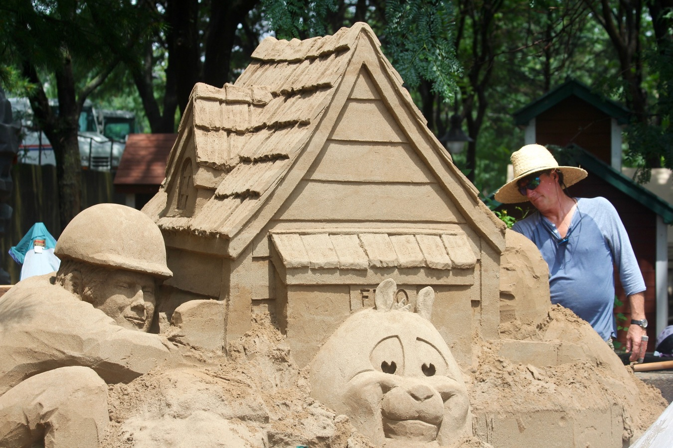 Glenn Auto Mall >> State College, PA - Greg Glenn Is the Man Behind the Sand at Arts Festival