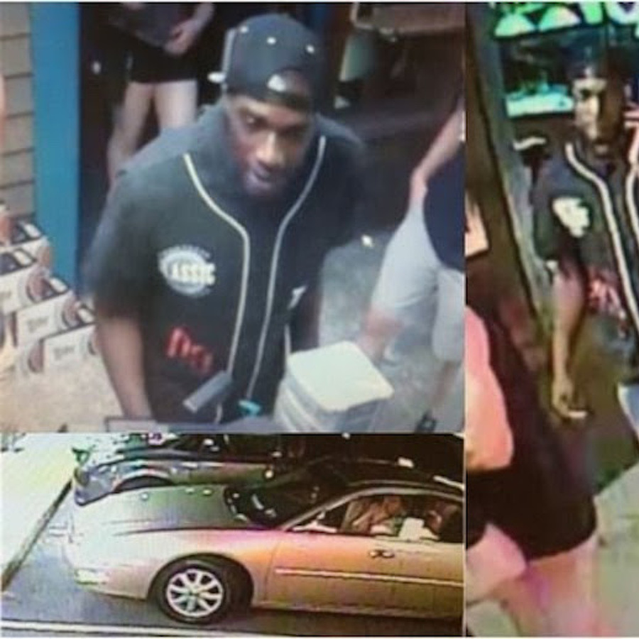 Police Seek Suspect in Reported Theft at Bar