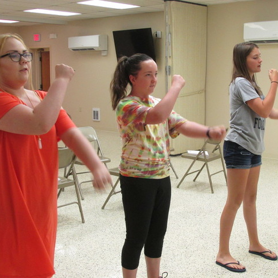 Students Create, Lead Community Theater Group