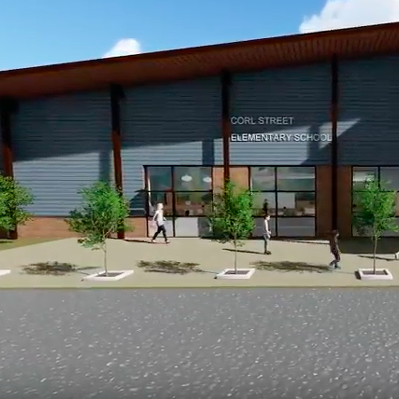 Fly-Through Video Offers Look at Corl Street Elementary Renovation Plans