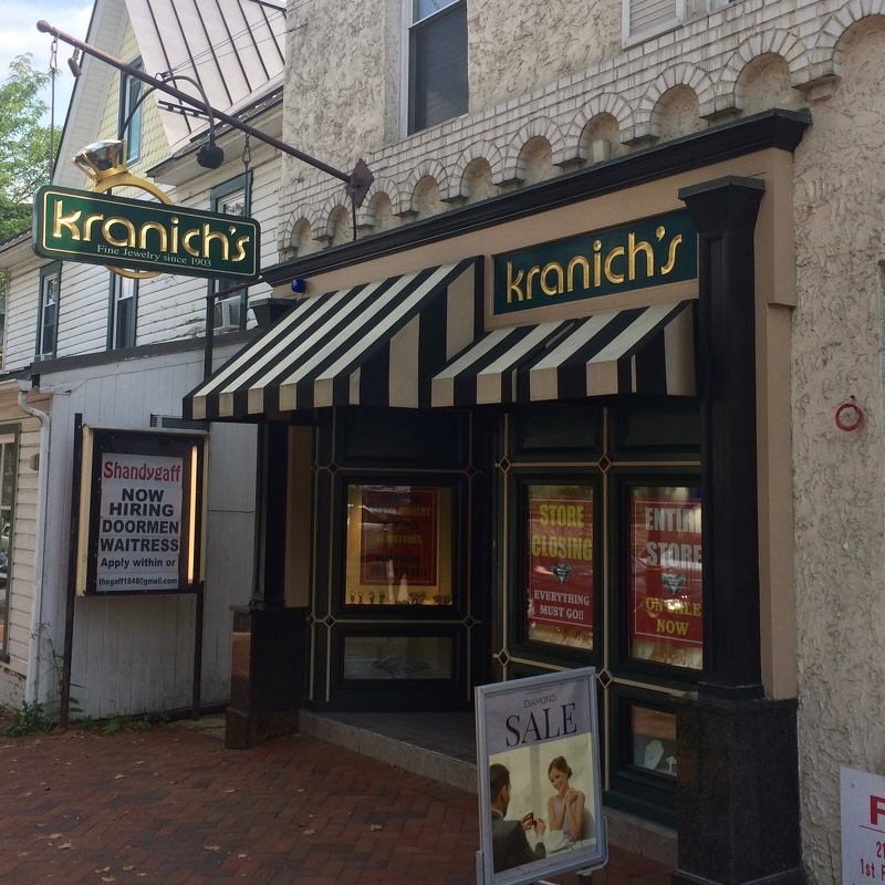 Kranich's to Close Downtown State College Location