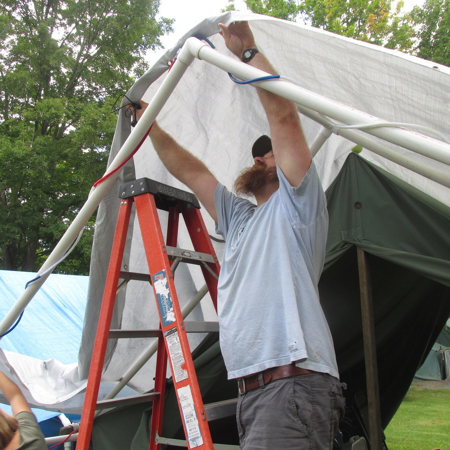 Grange Fair tenters move in as 143rd event set to start