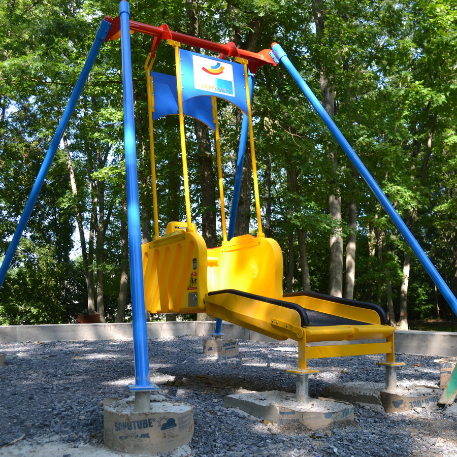 Bellefonte installs swing for those in wheelchairs