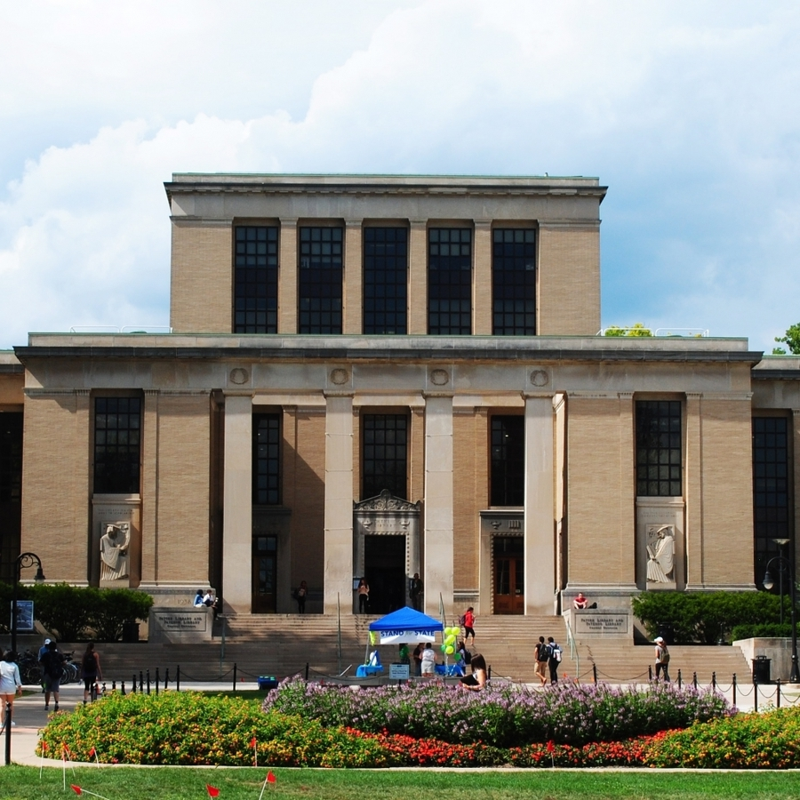 Penn State Libraries Ranked No. 2 Among Public University Libraries
