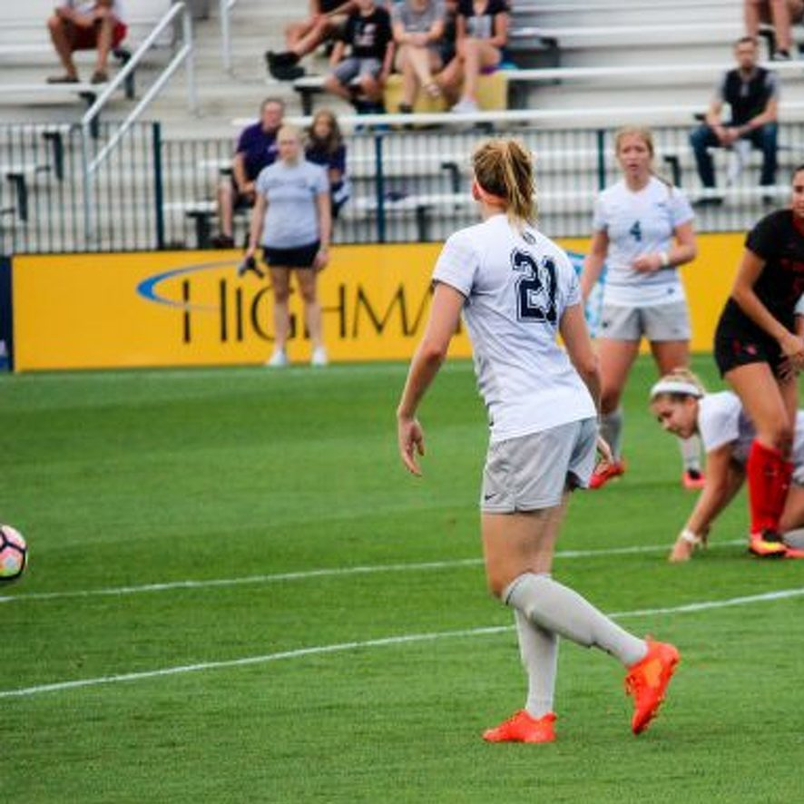 Laura Freigang's Big Personality Shines in Return to Penn State Women's Soccer