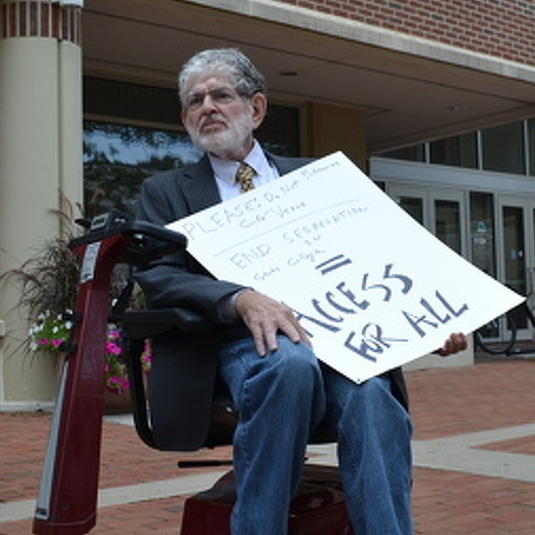 State College Man Hopes to Change How Borough Sees Accessibility