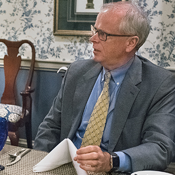Lunch with Mimi: Penn State Provost Nick Jones helps cultivate 'knock-your-socks-off' ideas