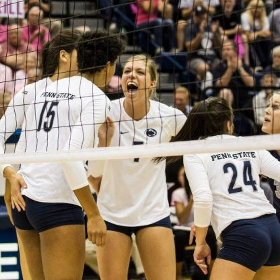 Penn State Women's Volleyball's Washington, Detering Claim National Player of the Week Honors