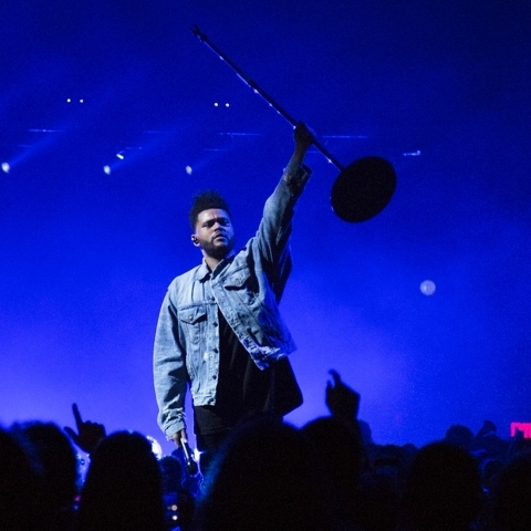 The Weeknd Impresses with Starboy Tour Performance at the Jordan Center