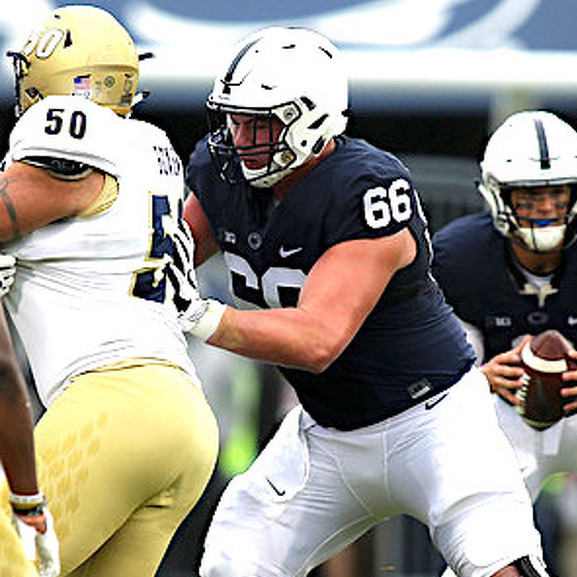 Penn State's Offensive Line is the Biggest One in PA