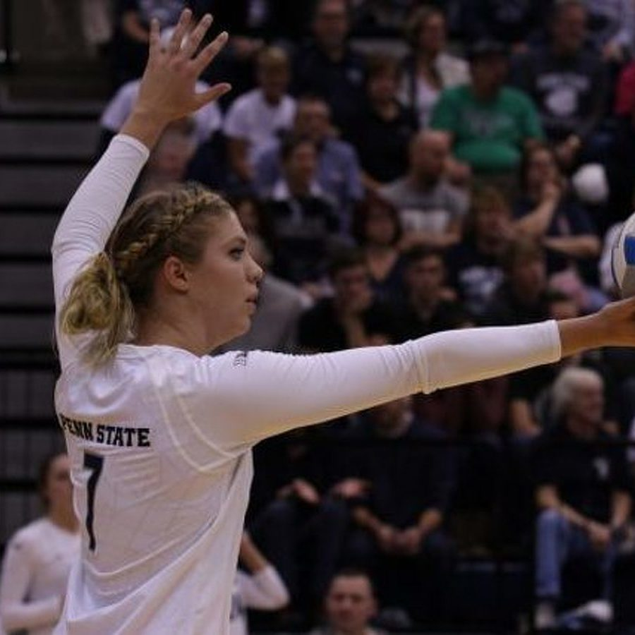 No. 3 Penn State Women's Volleyball Sweeps Colorado