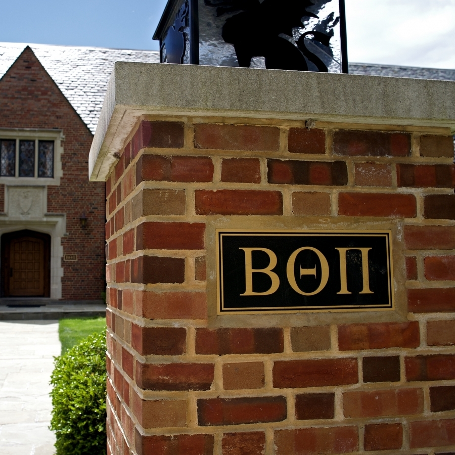 Beta Theta Pi House Open to Fraternity's Alumni During Football Weekends
