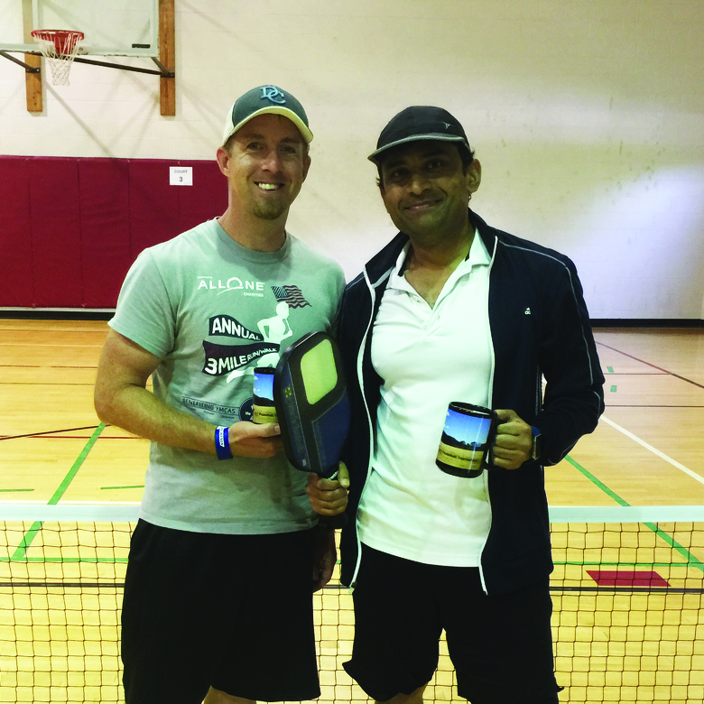 Pickleball teams from Pennsylvania, Maryland compete