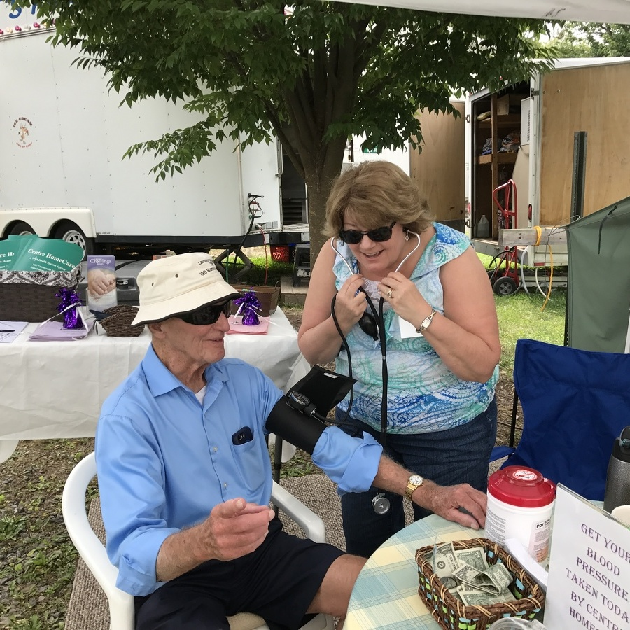 Blood screenings at Centre County Grange Fair