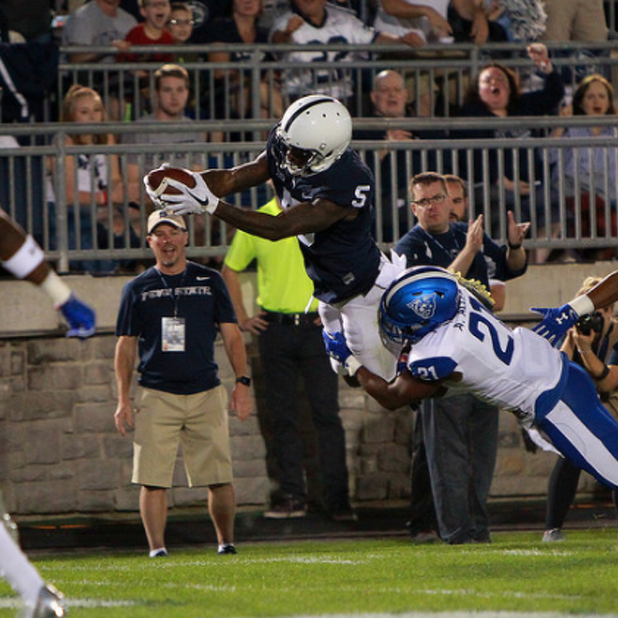 Penn State Football: Heading Into Big Ten Play Receivers Getting In On Scoring