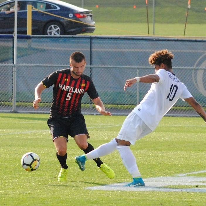 Penn State Men's Soccer Falls to No. 3 Maryland