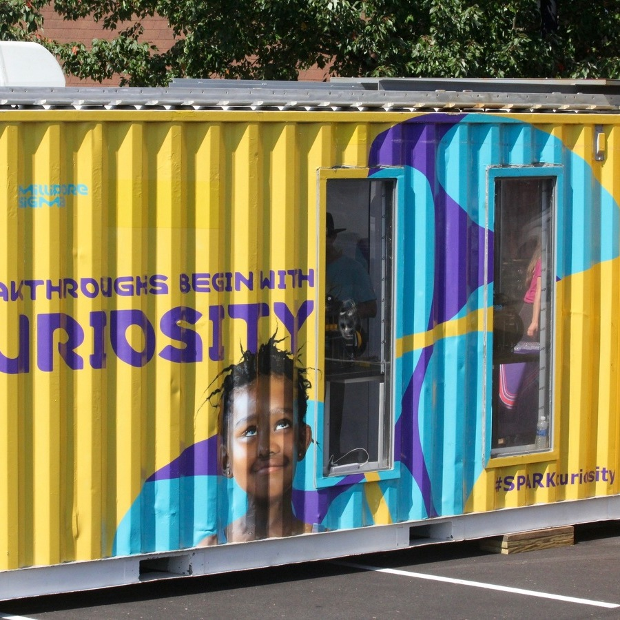 Curiosity Cube Brings Cutting-Edge Science to Local Schools