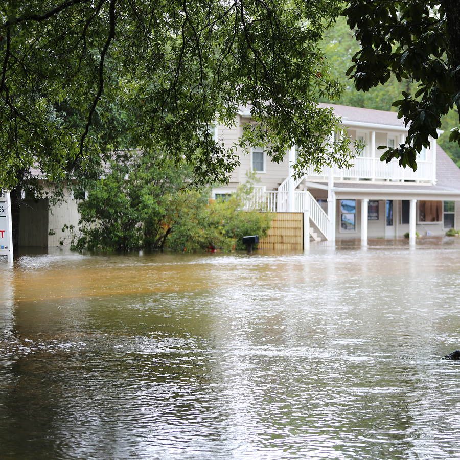 Helping Flood Victims One Bucket at a Time