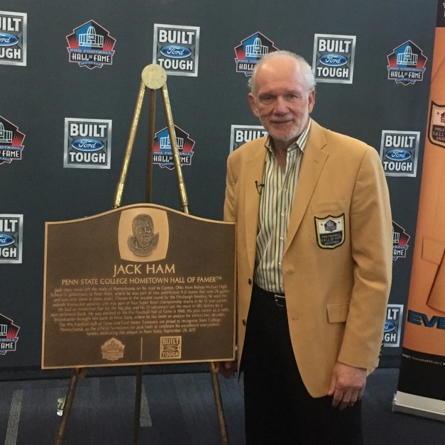 Jack Ham Honors Penn State, Making It an 'Official School of the Pro Football Hall of Fame'