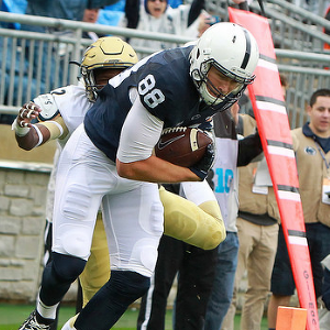 Penn State Football: Gesicki Injured In First Half Of Victory