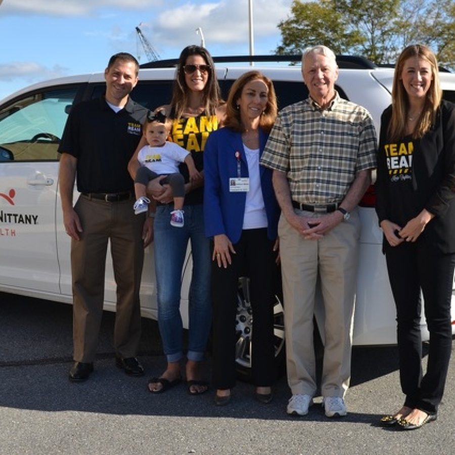Team Ream Donates Transport Van to Mount Nittany Health