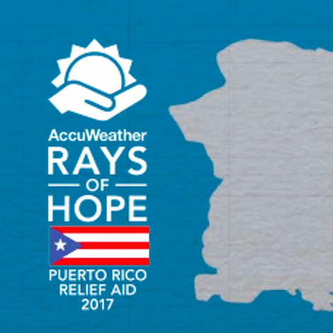 AccuWeather Collecting Donations for Hurricane Victims in Remote Town in Puerto Rico