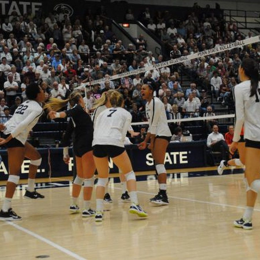 Penn State Women's Volleyball Sweeps Michigan