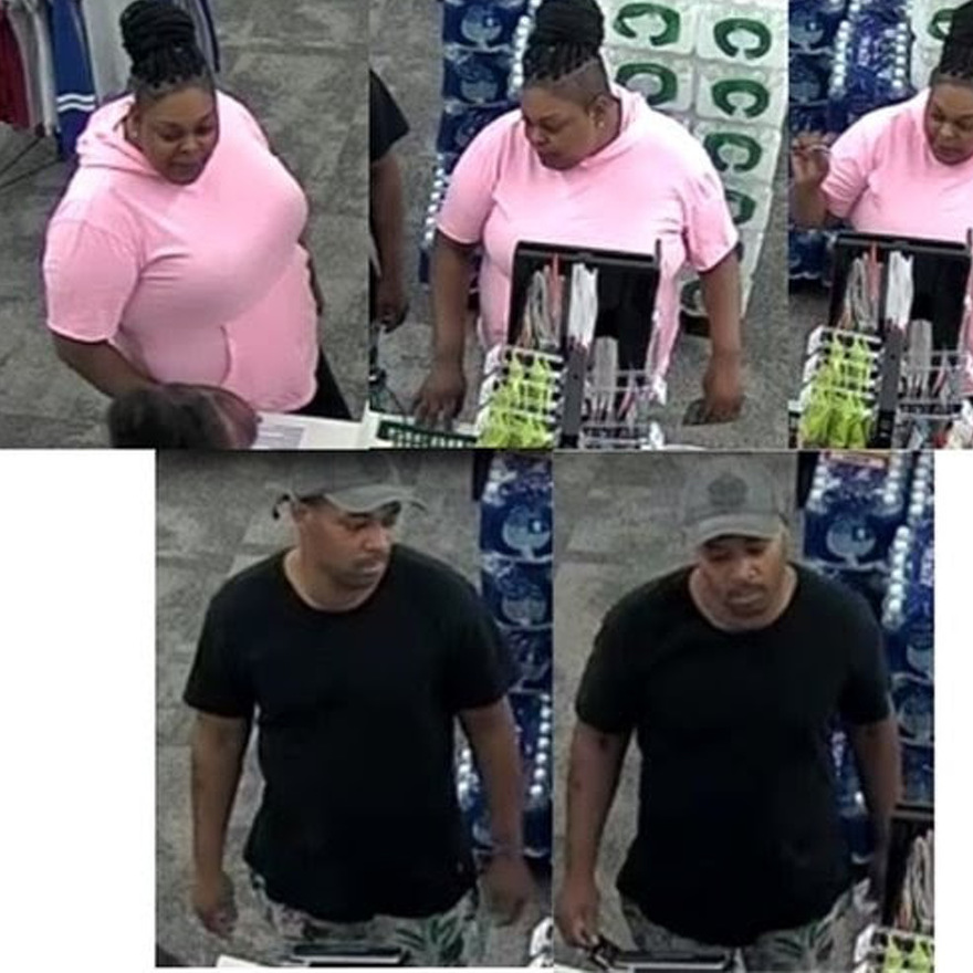Police Seek Suspects in Credit Card Theft