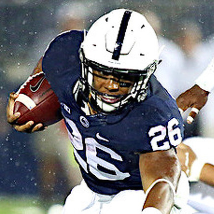 With Saquon Barkley, It's How He Carries Himself. And The Rush He Provides