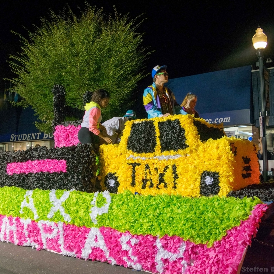 Homecoming Parade to Affect Downtown Traffic