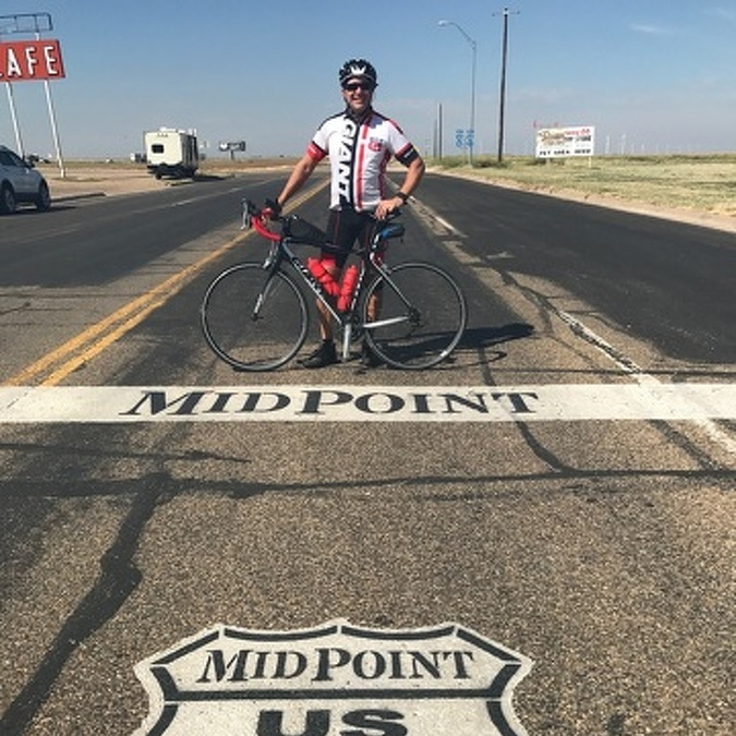 Penns Valley Pastor Makes 2,500-mile Bicycle Trip on Route 66