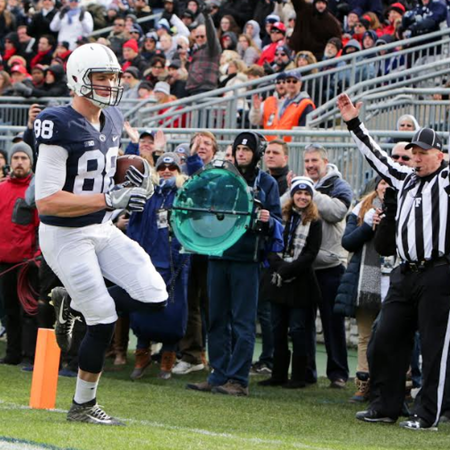 Penn State Football: From A Notebook To Reality, Gesicki Makes Words Come To Life