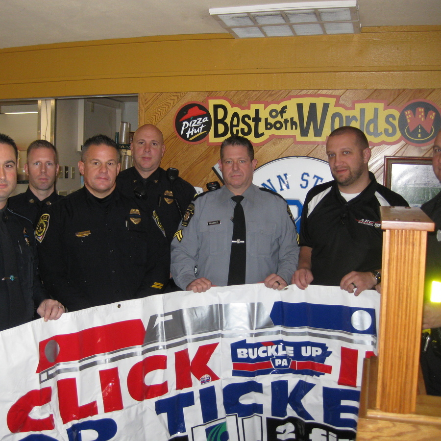 With Holiday Travel Coming Up, Local Law Enforcement Take Part in Seat Belt Campaign
