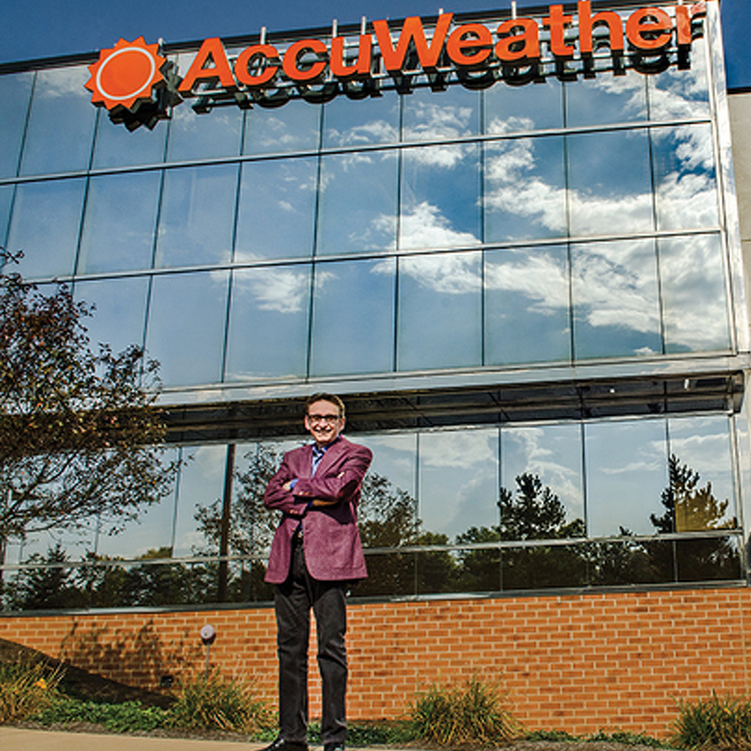 Forecasting Success: Renaissance Honoree Joel Myers Built AccuWeather into a Global Force While Staying Loyal to His Roots