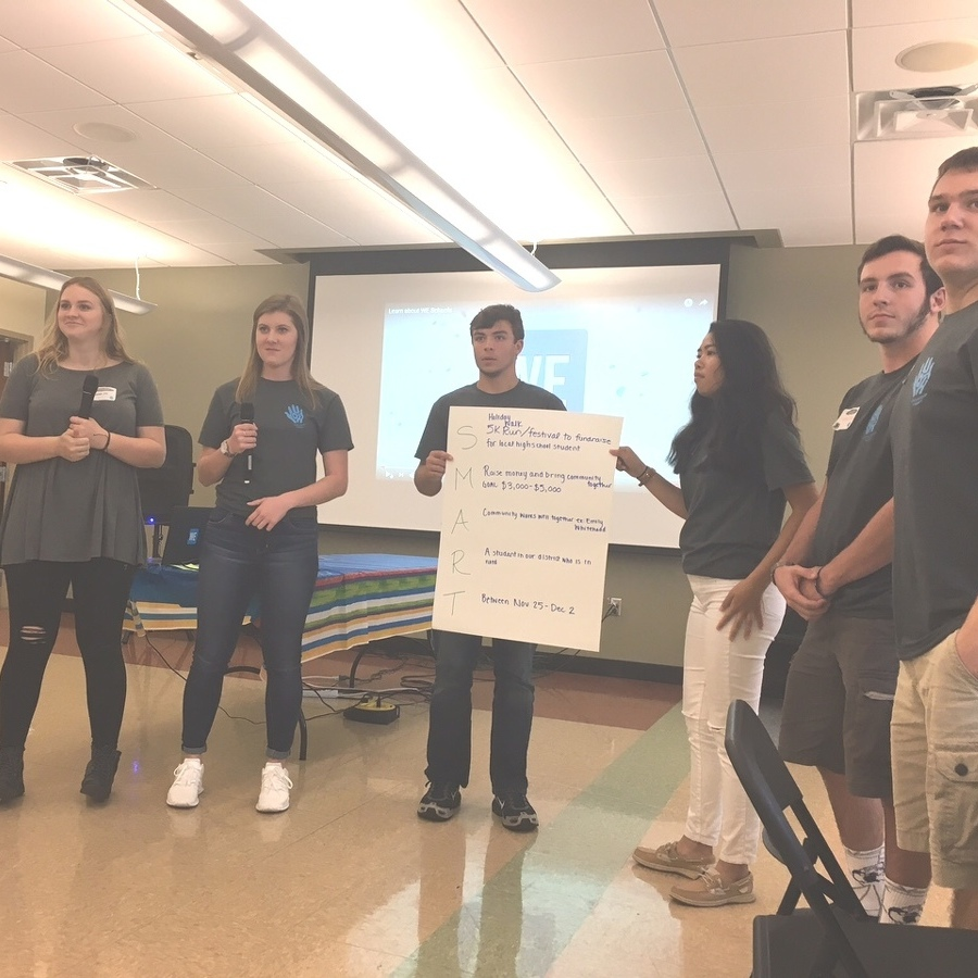 P-O students participate in leadership summit