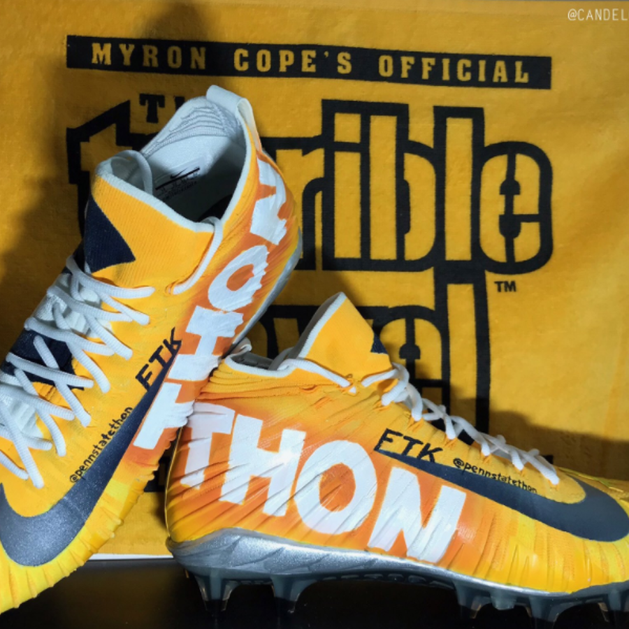 Steeler, Former Nittany Lion Jesse James to Wear THON-Themed Cleats for Monday Night Football
