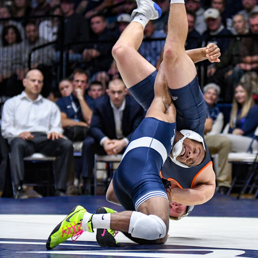 Penn State Wrestling Heads East to Face Old Rival
