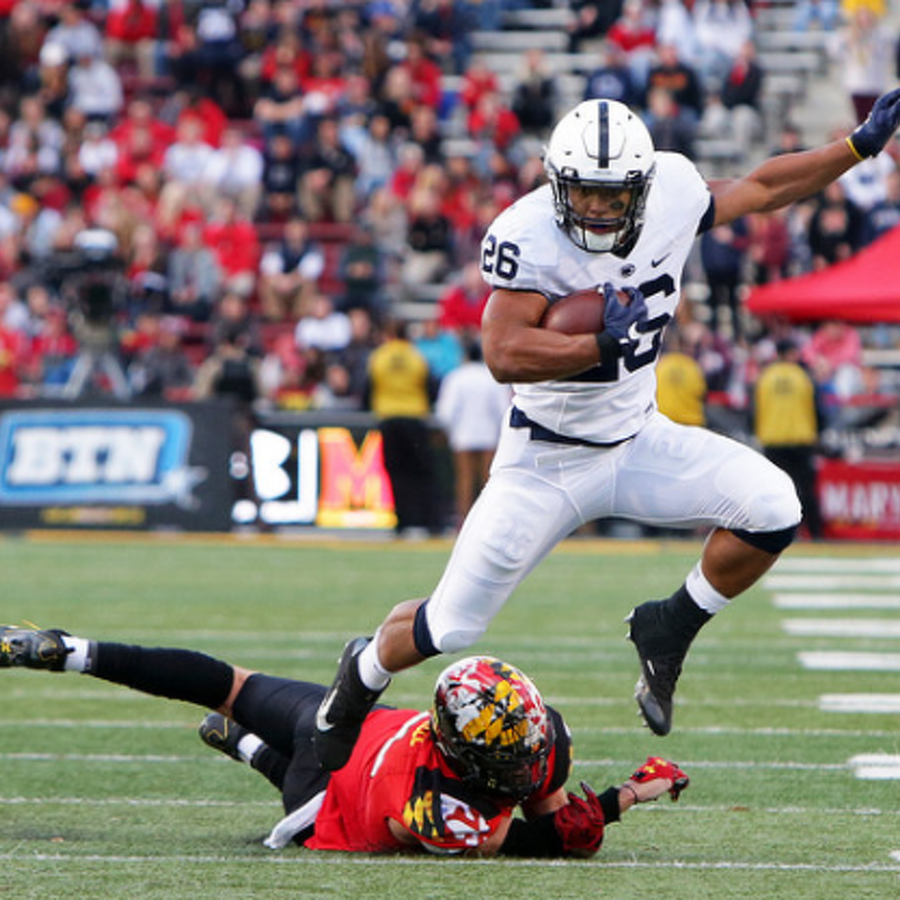 Penn State Football: Barkley Takes Home Silver Football