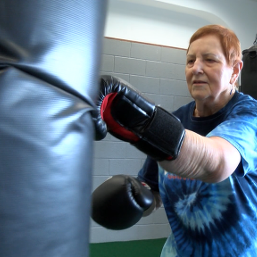 Boxing Class at State College Gym Focused on Knocking Out Parkinson's Disease
