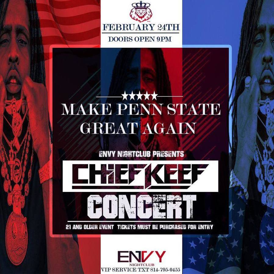 Rapper Chief Keef to Perform at Envy Nightclub