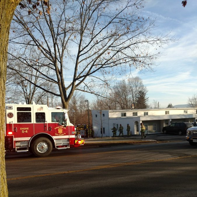 One Injured in Apartment Fire