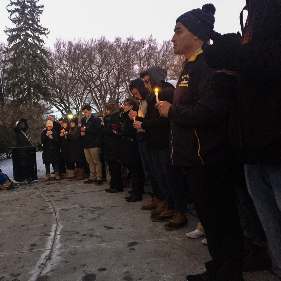 Vigil Celebrates Life of Penn State Student Will Denton