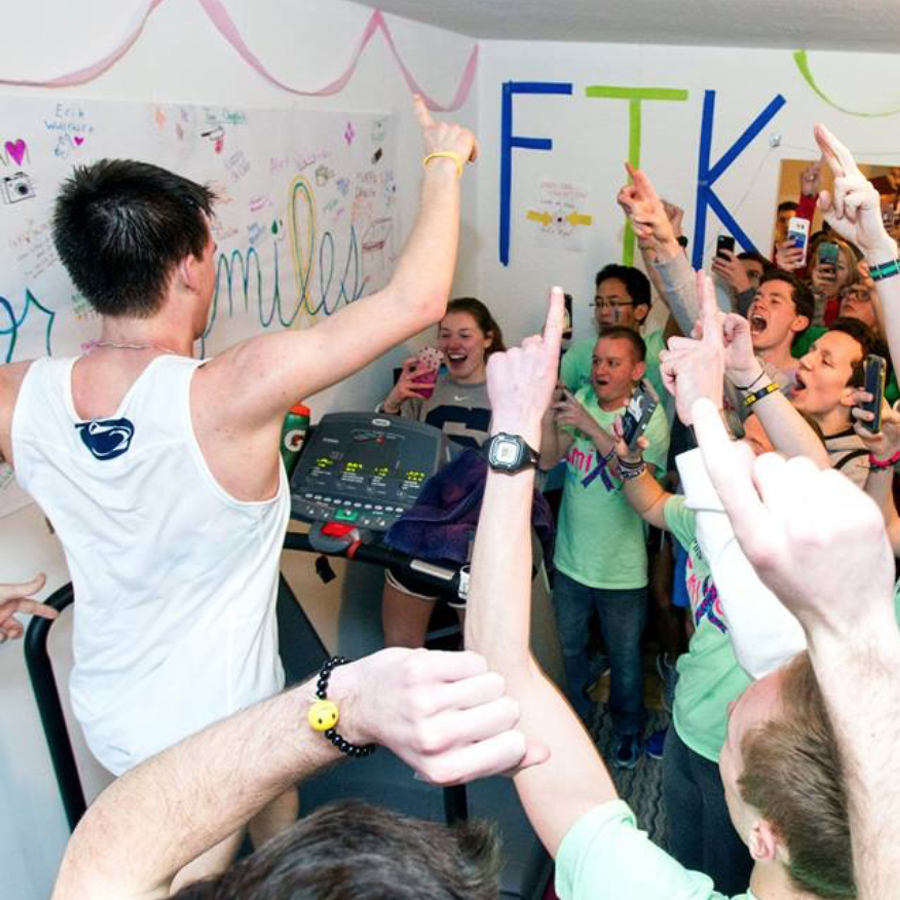 Miles for Smiles: Penn State Club Cross Country Ready for 46-Hour Treadmill Marathon Fundraiser for THON