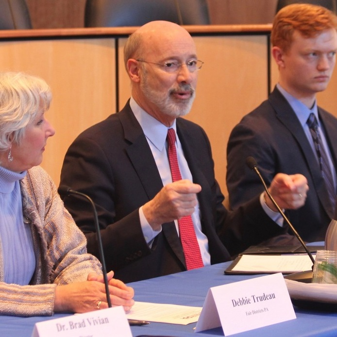 Gov. Wolf Visits State College to Talk Redistricting