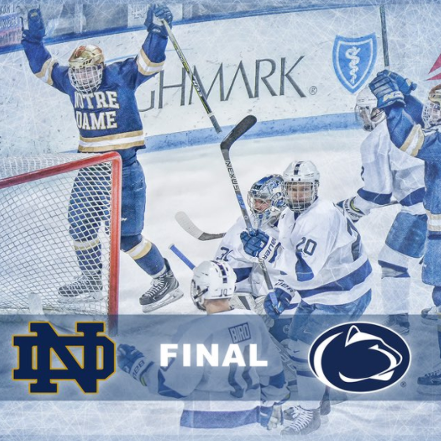 Penn State Hockey: Nittany Lions Falter As No. 2 Notre Dame Comes Back To Win 5-3
