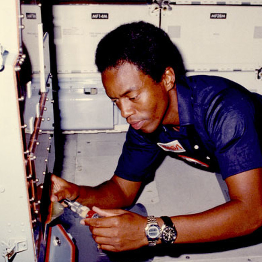 'Guion' Film Highlights Penn Stater Who Was First African-American in Space