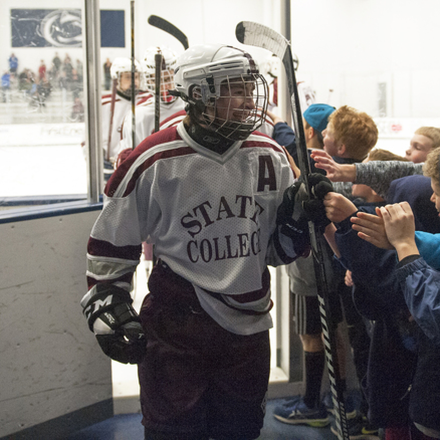 Mixed Focus Propelling State High Ice Hockey to Success