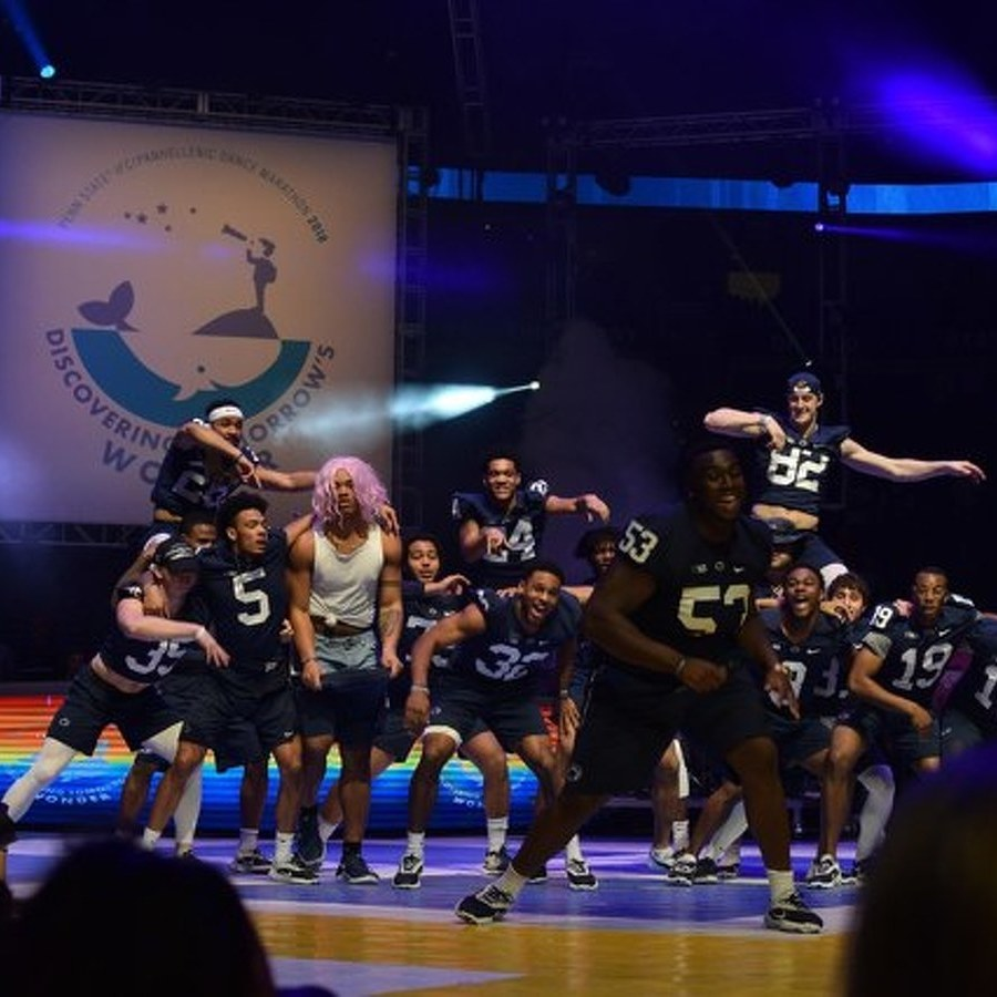 Watch: Penn State Football's THON 2018 Pep Rally Performance